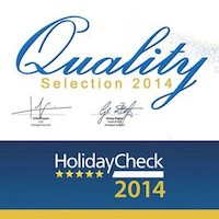 HolidayCheck Quality Selection 2014