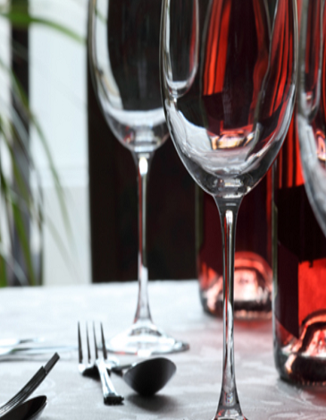 Restaurants- glass image