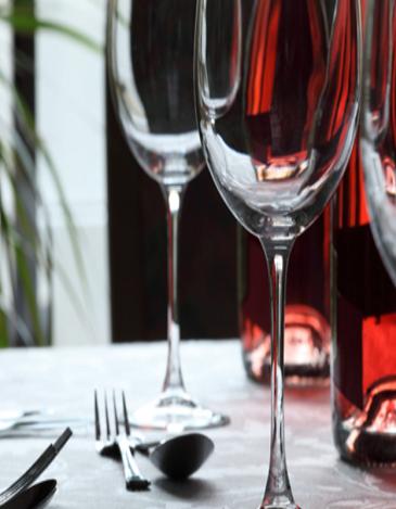 Restaurants- glass image