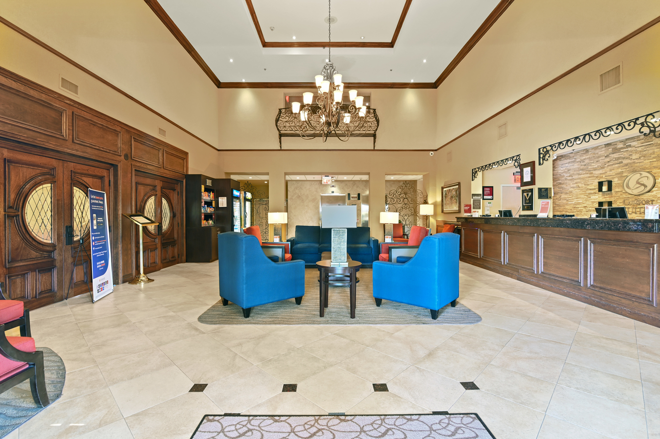 Slider Image - Reception area